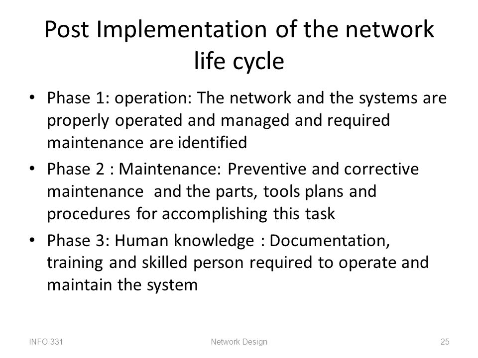 Unit i network analysis architecture and design ppt download for Network design and implementation plan