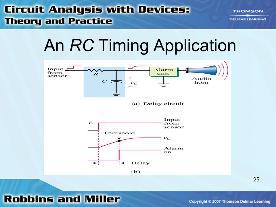 An RC Timing Application