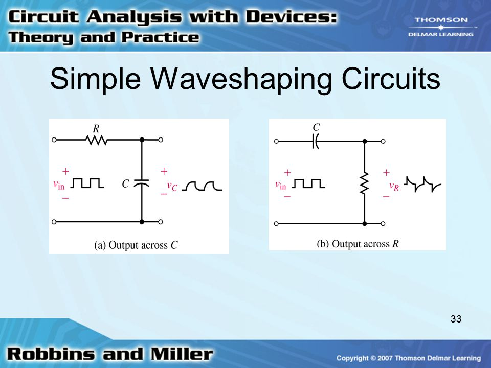 Simple Waveshaping Circuits