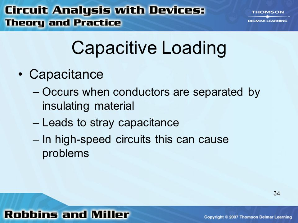 Capacitive Loading Capacitance