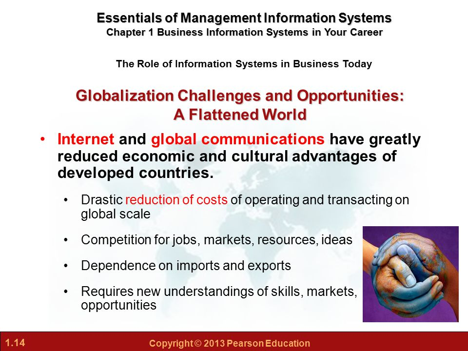 the challenges and opportunities of globalization in a flattened world John d negroponte's testimony on threats, challenges, and opportunities for the united states to the senate armed services committee.