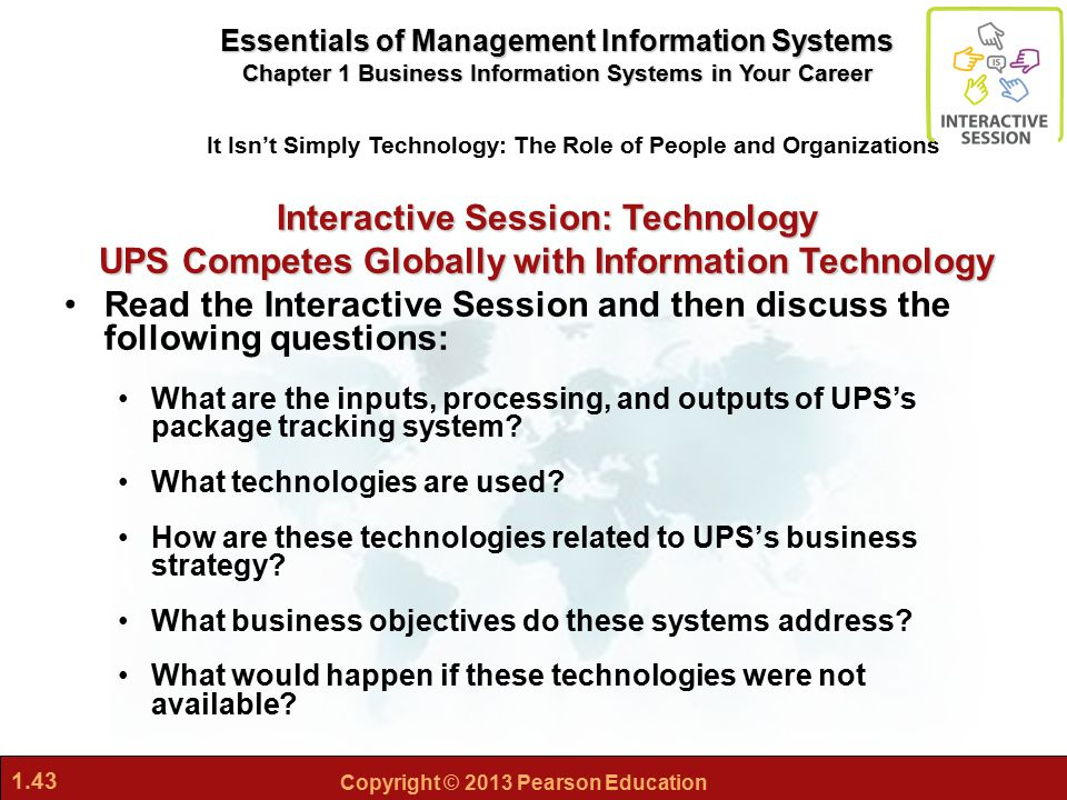 ups competes globally with inforamtion technology essay Case study ups competes clobally with information technology introduction company history case study ups competes clobally with information.