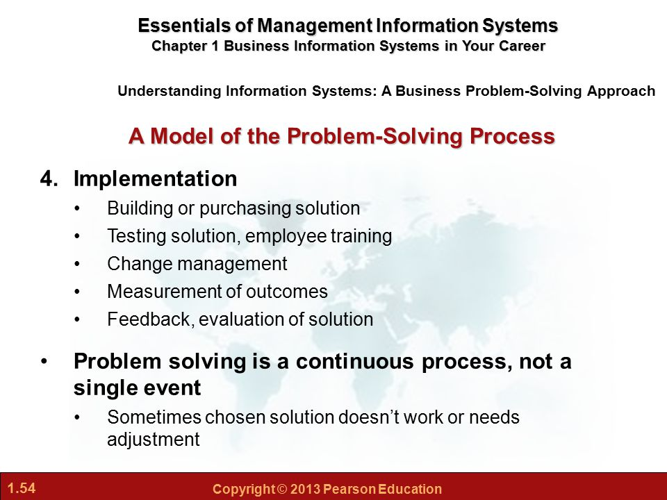 information systems 3 essay Management information systems tutorial 3 (week 4) 1 identify and describe the features of organizations that help explain differences in organizations' use of information systems.