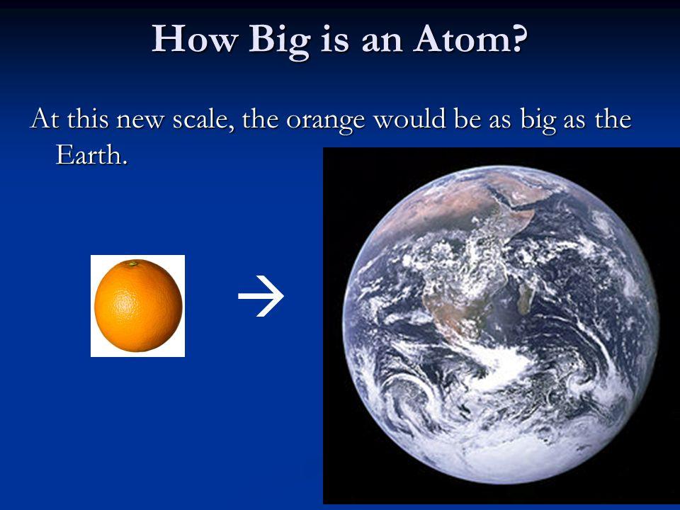 how to make an atom