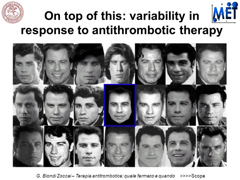On top of this: variability in response to antithrombotic therapy