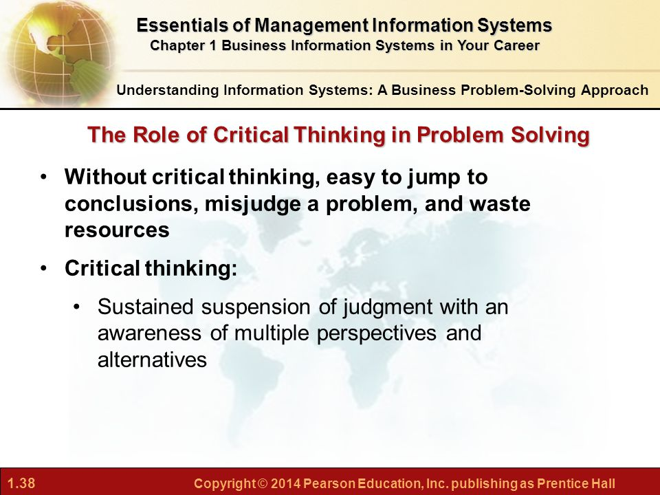 Systems Thinking, Critical Thinking, and Personal Resilience