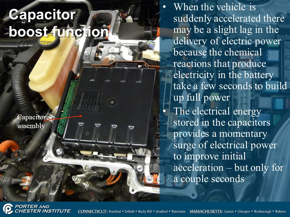 Capacitor boost function