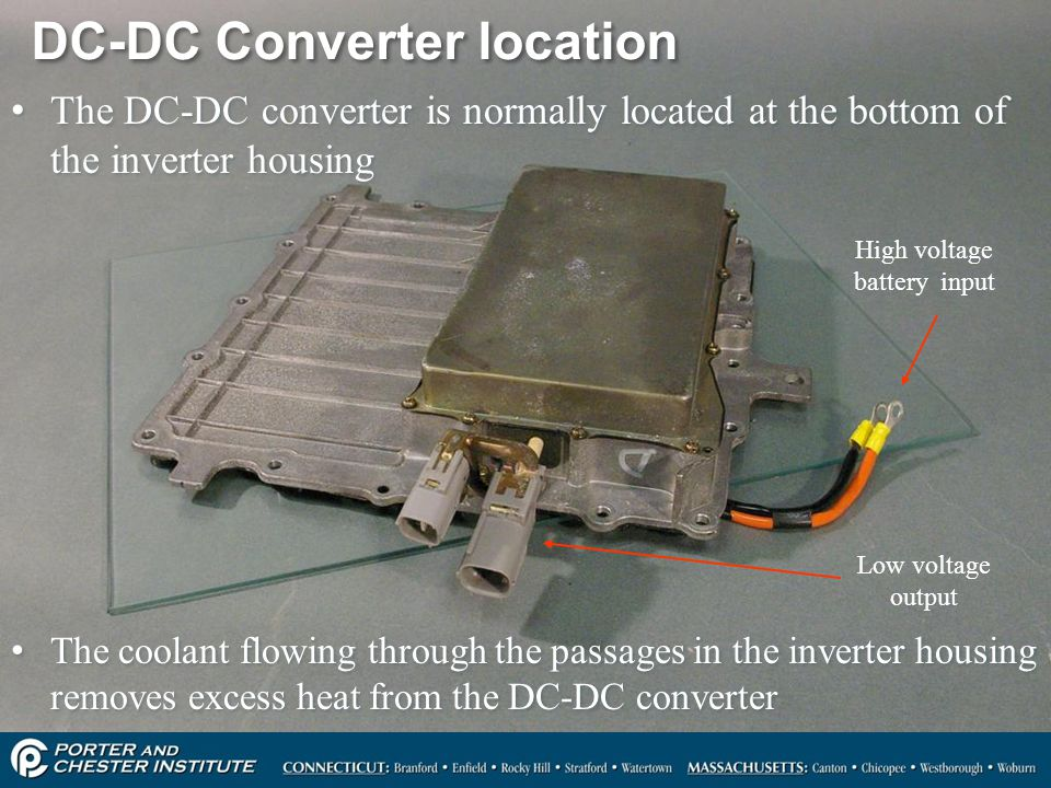 DC-DC Converter location