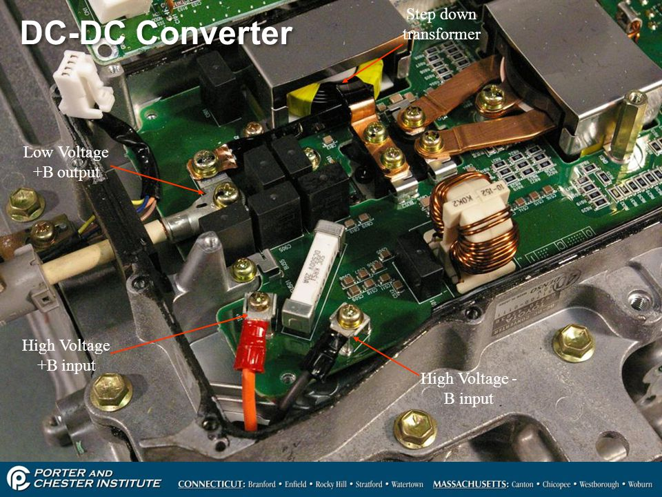 DC-DC Converter Step down transformer Low Voltage +B output