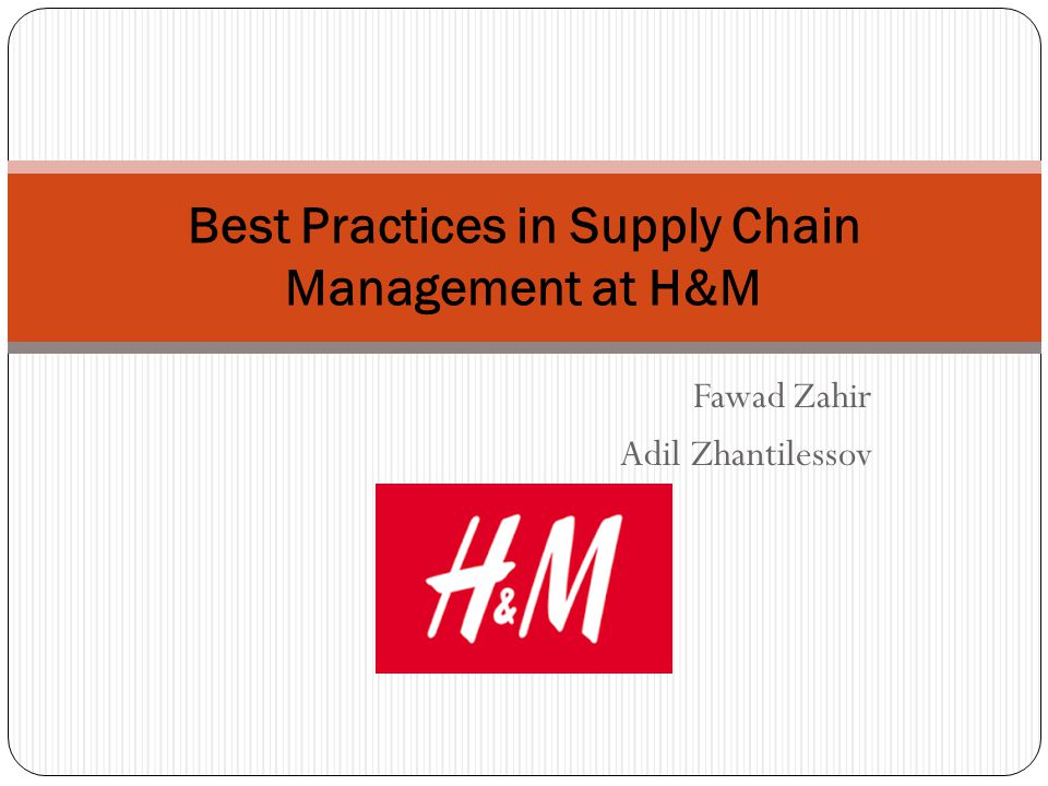 supply chain management practices of spanish garments Supply chain management (sscm) is not substantial in number most of the studies concentrate on social, environmental, and economic aspects of supply chain in a standalone fashion.