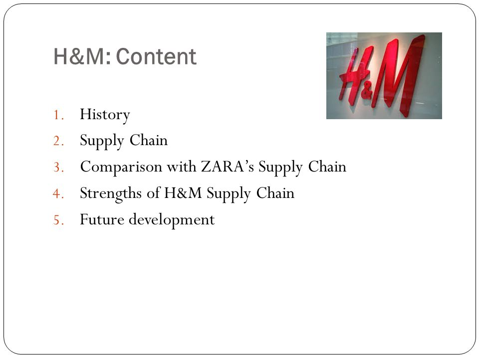marketing supply chain management and zara Because zara owns much of its own supply chain and exhibits an extreme amount  which type of vertical marketing system does zara  inventory management:.