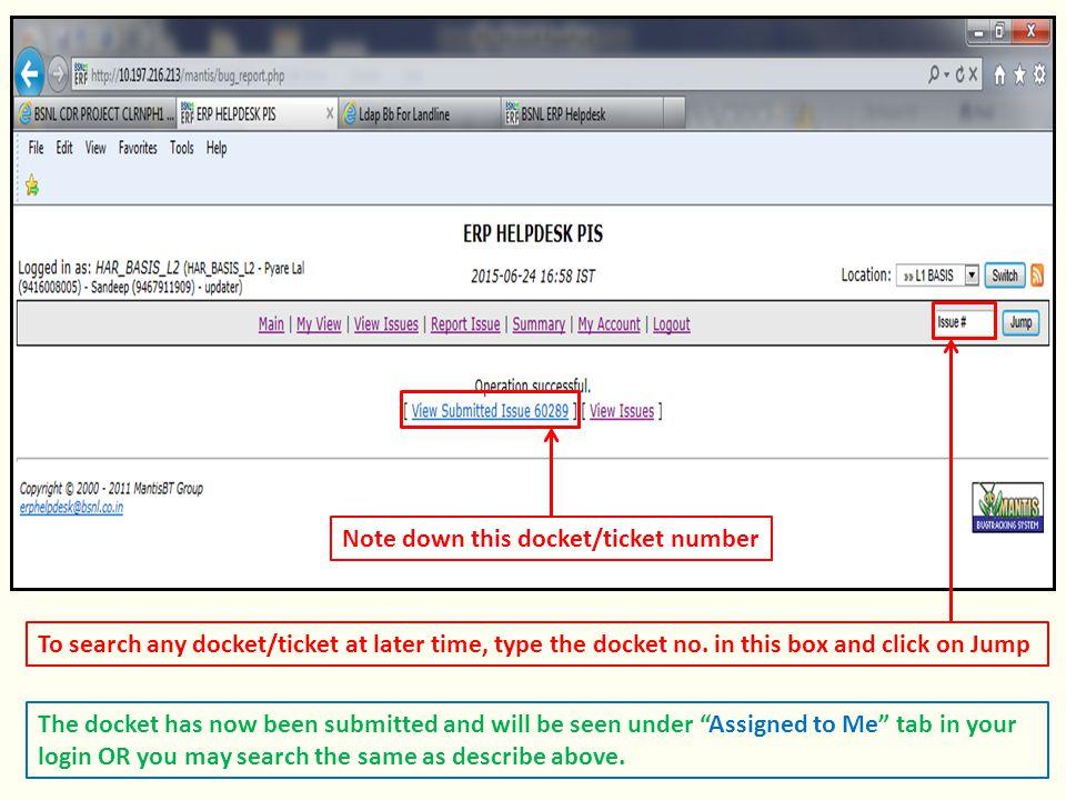 how to find my docket number online
