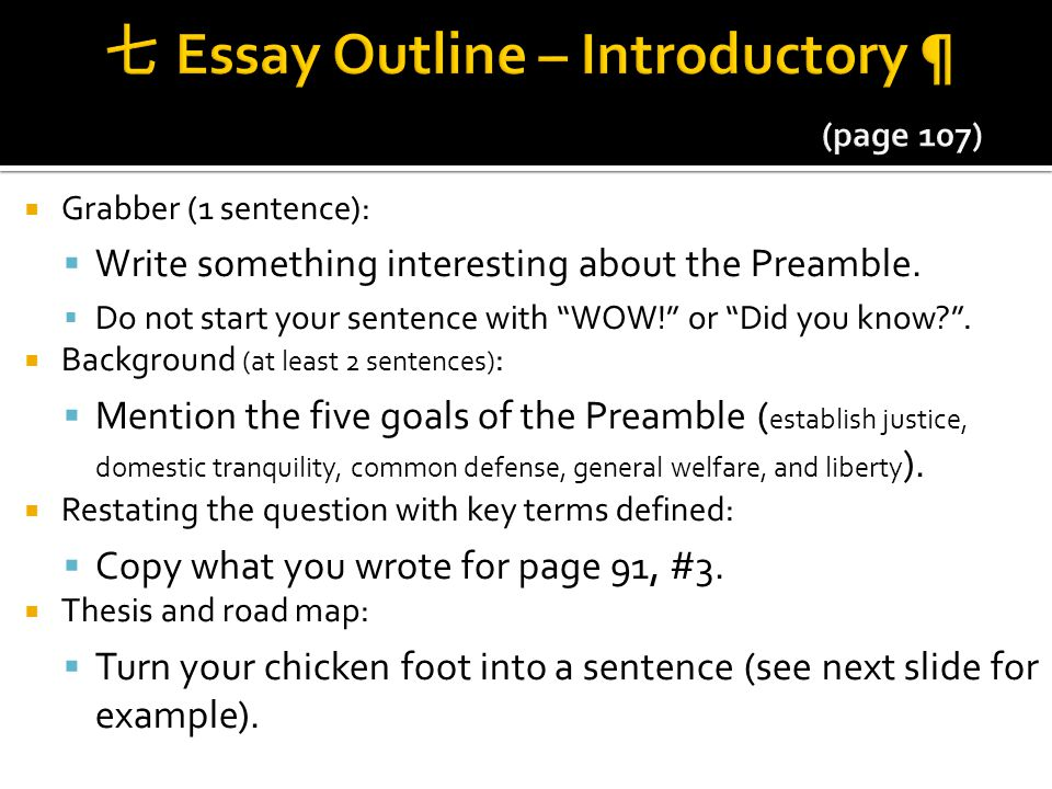 facts backing up the preamble of The preamble of the constitution is the focus of this combination of a quiz and worksheet you are asked about the addition of the preamble, and what the first few words are you can also find .