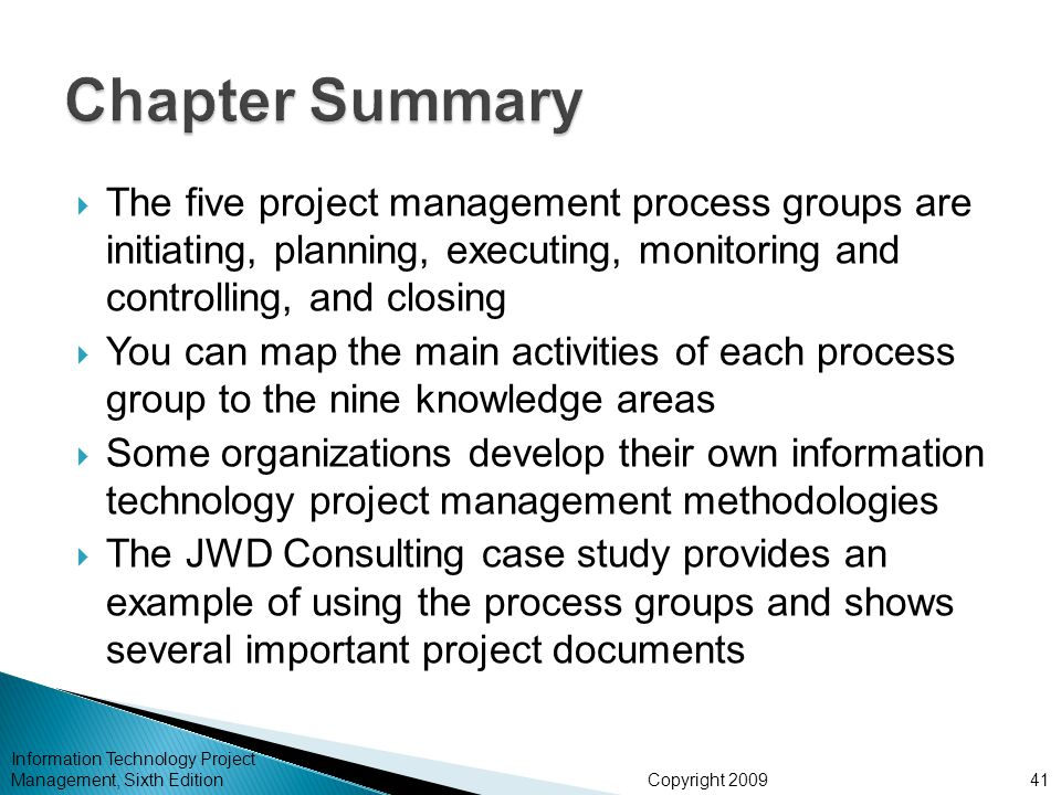 technology management case study summary