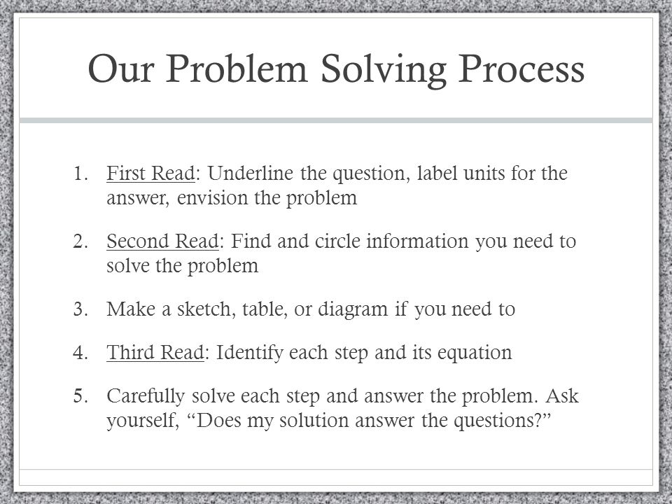 problem solving interview questions answers