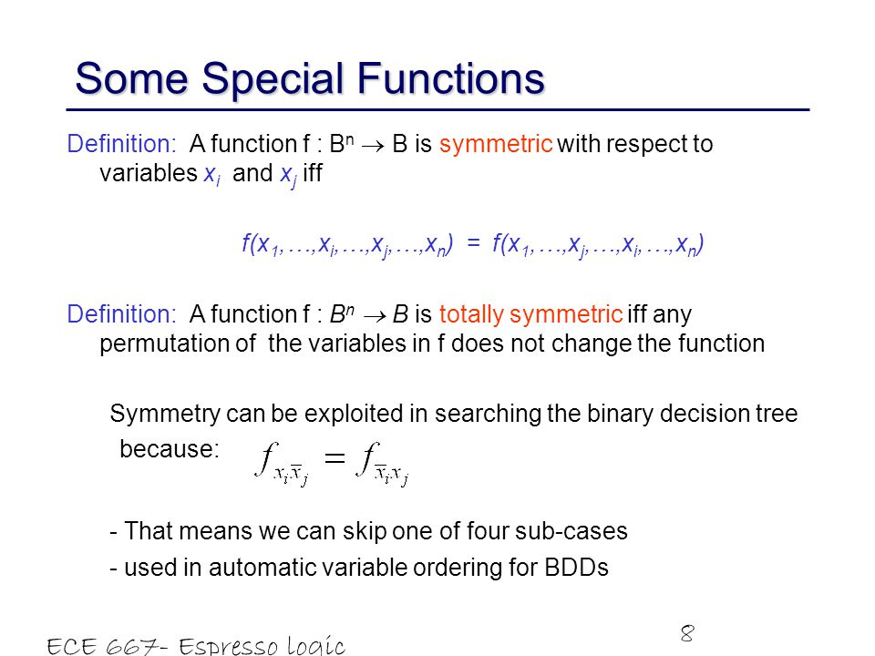 Some Special Functions