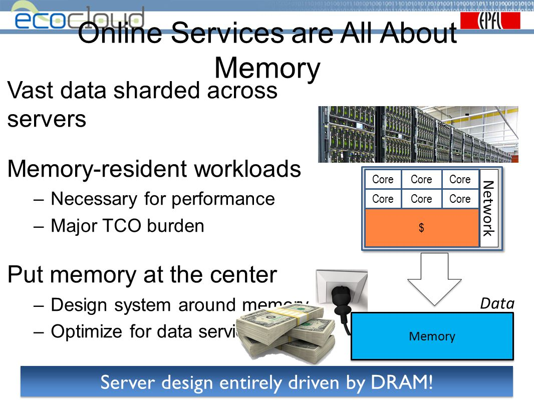 Online Services are All About Memory