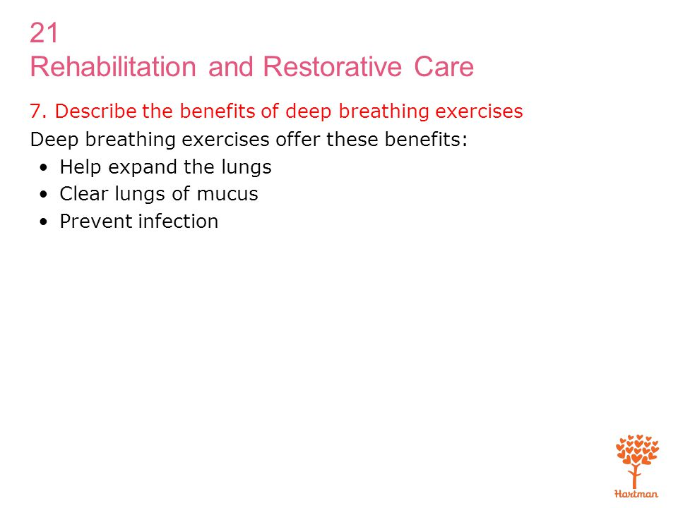 1. Discuss rehabilitation and restorative care - ppt video ...