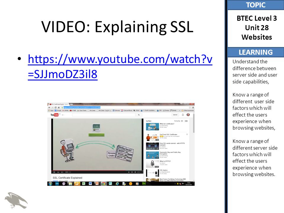 VIDEO: Explaining SSL   v=SJJmoDZ3il8