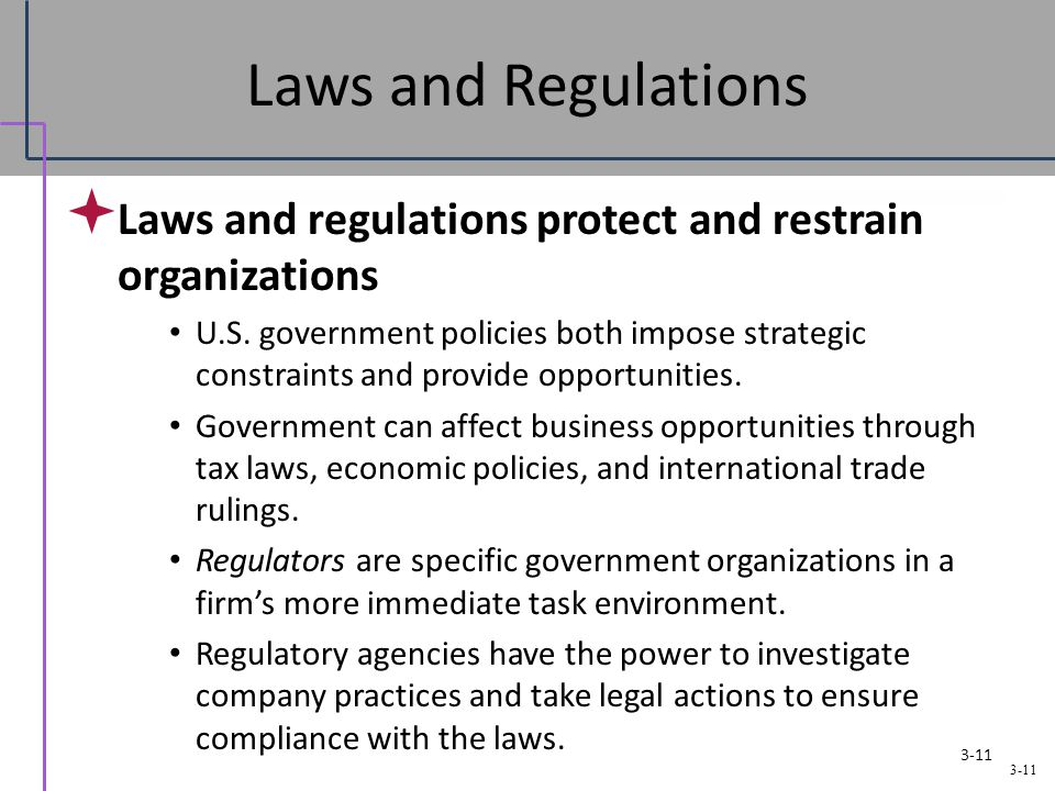 laws affect business While there's no simple way to determine how the tax law will affect your business without a comprehensive analysis of your specific situation, we've put together a.