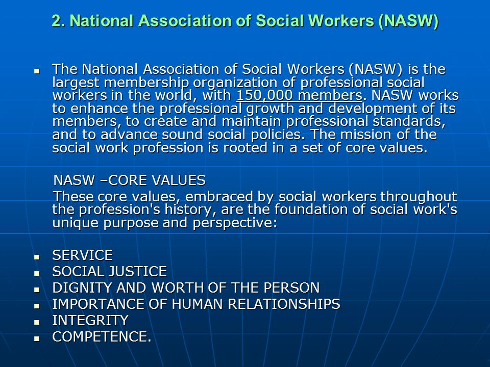 Top 5 Values in Being a Social Worker