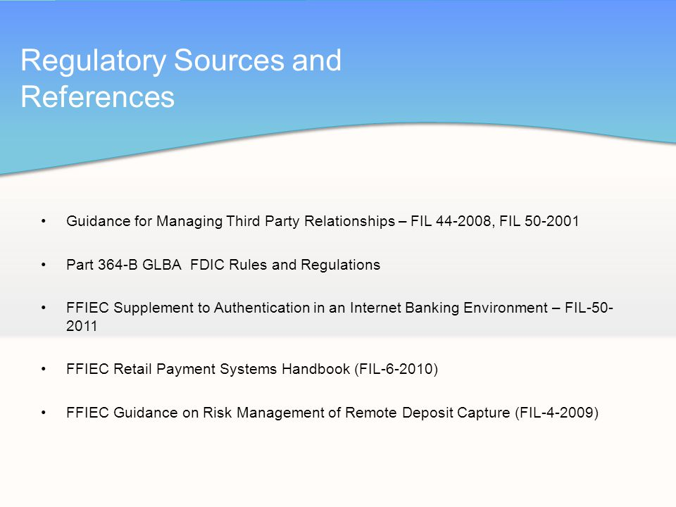authentication in an internet banking environment Authentication in an internet banking environment written by patrick bloomstine yesterday, the federal financial institutions examination council (ffiec) released its supplement to authentication in an internet banking environment.