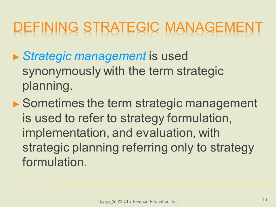 strategic management: formulation, implementation, and control essay Strategic management: formulation, implementation, and control in a dynamic environment is an ideal reference for any teacher, student, or professional in the management arena preview this book » what people are saying - write a review.