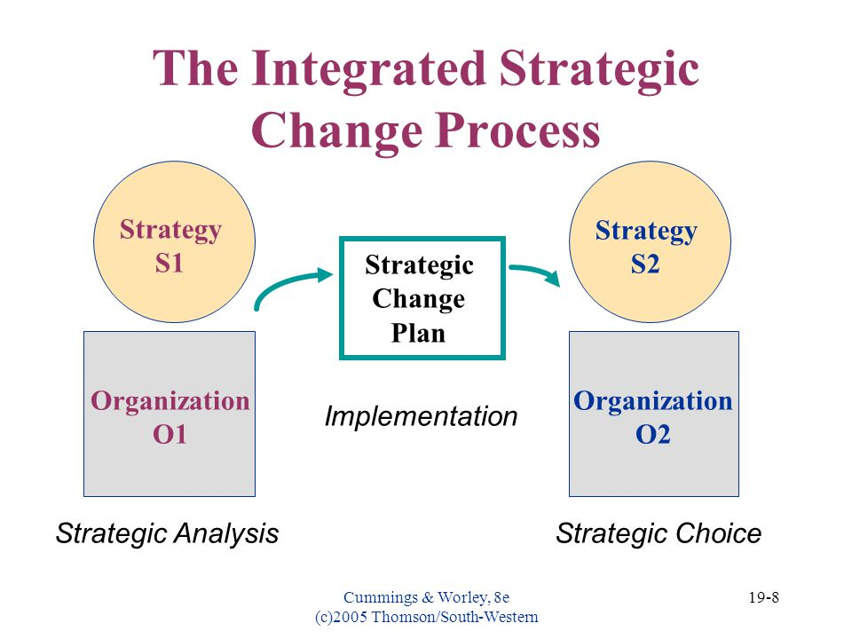 The Integrated Strategic Change Process