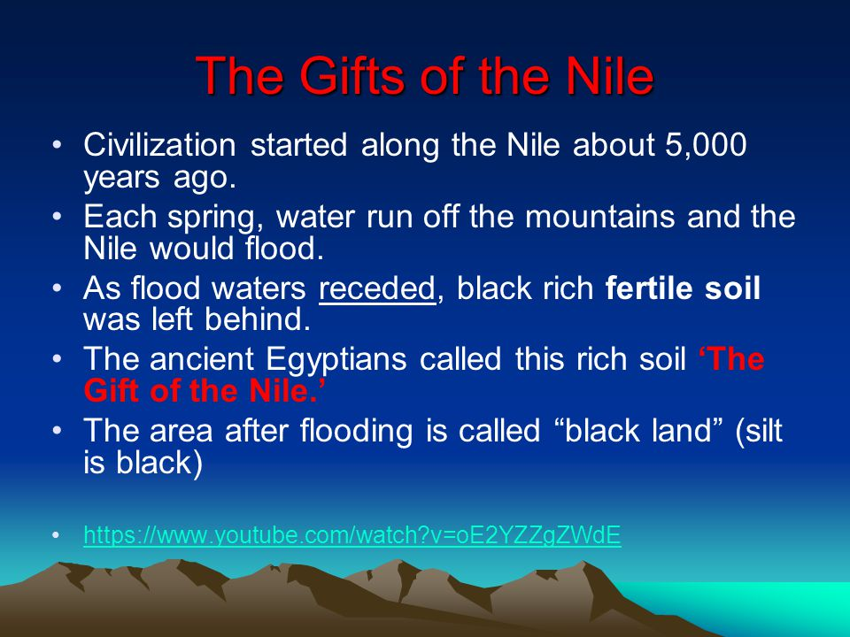 Egypt and the nile river valley ppt download for What is rich soil called