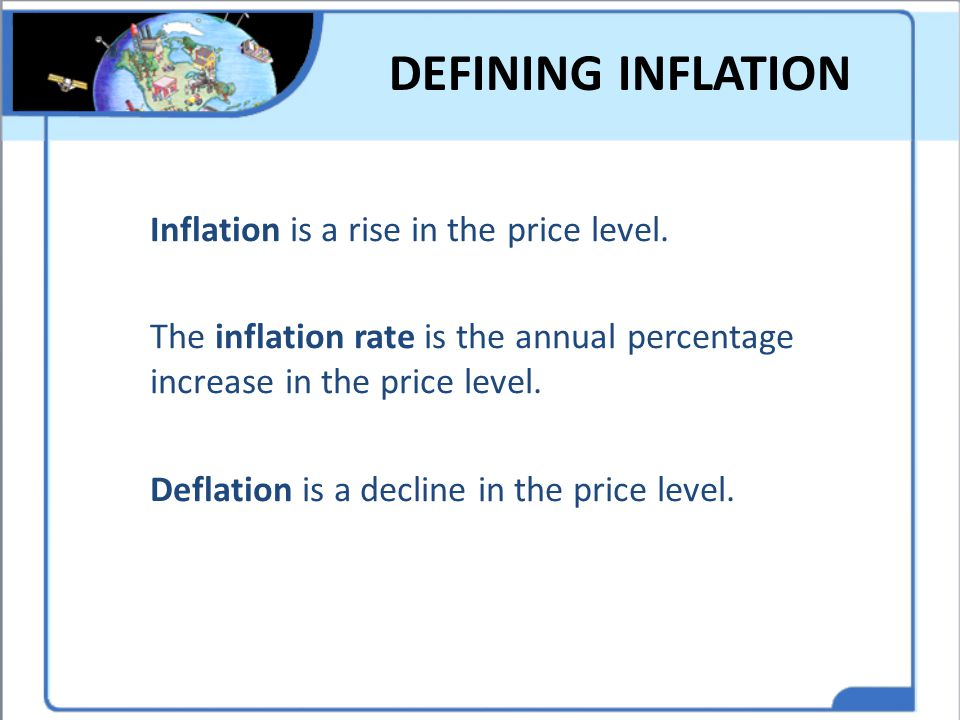 DEFINING INFLATION
