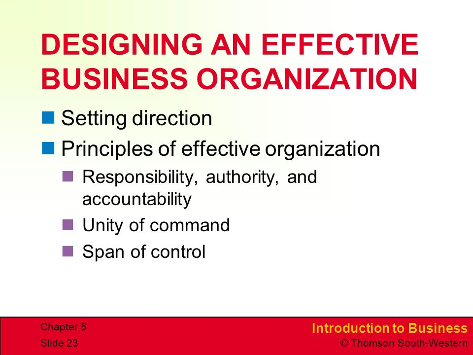 organization structure effective organization structure and principles of organizational structure e Trying to maintain a classic org chart—or, heaven-forbid, to redesign your business based on one—causes much more harm than good so drop the classic org chart and instead embrace the principles of effective organizational structure combined with a role-centric hrms.