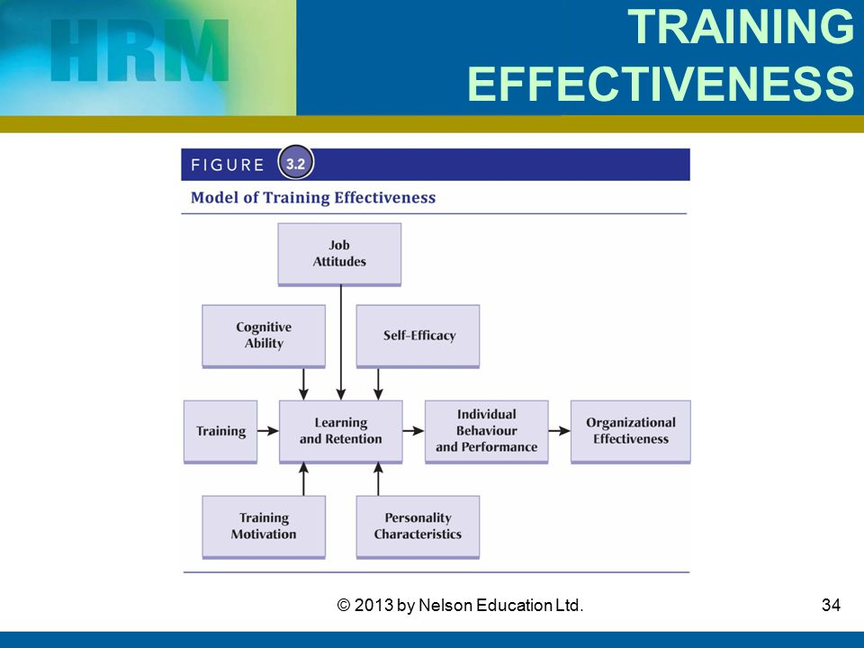 effectiveness of training and development Training is a systematic development of knowledge, skills and  of staff training  and development in relation to organization effectiveness that this paper.