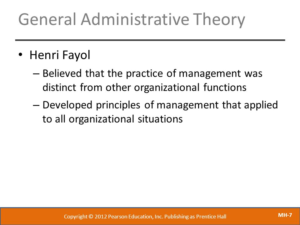 Henri Fayol – Father of Modern Management Theory