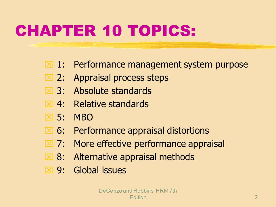 Performance Appraisal Tips Help Page