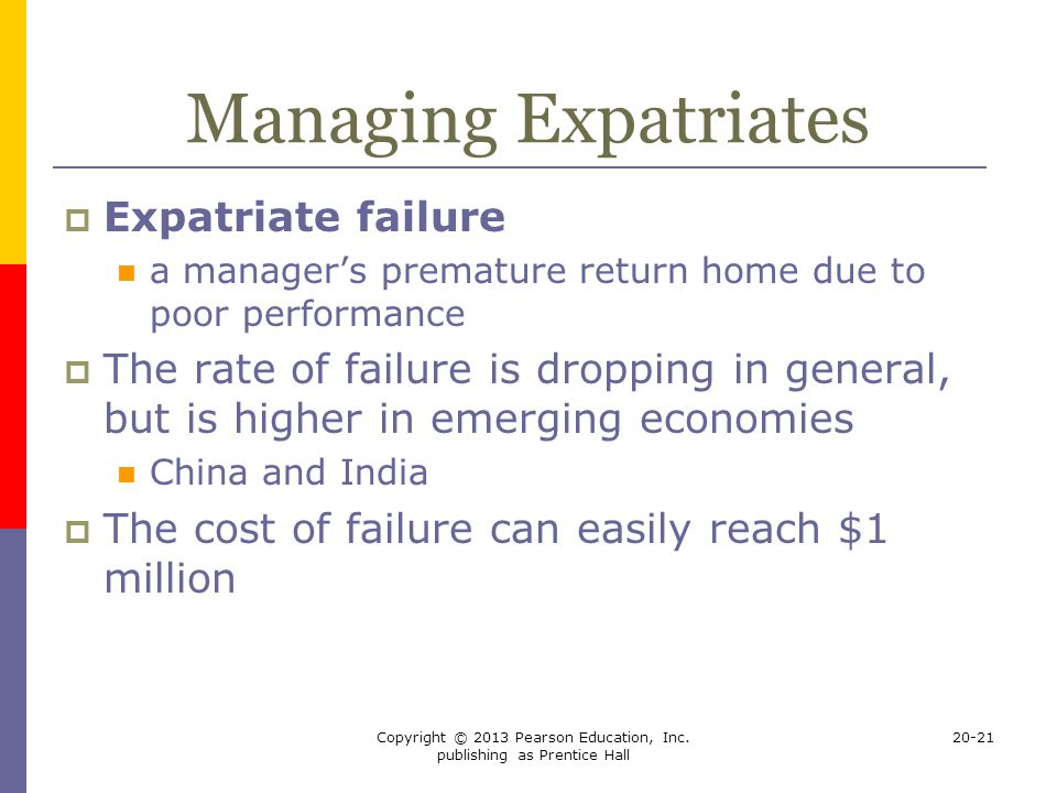 expatriate failure in the indian context Keywords: expatriates, expatriation, hrm strategies and practices across  this  is more so in the context of korean ofdi in india, where korean  with their  international assignment because of their company's failure to (1).