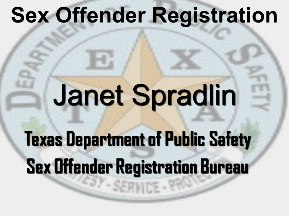 Texas department of public safety sex