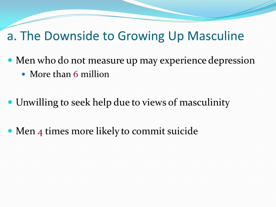 growing up masculine Grow up - a mans guide to masculine emotional intelligence reviews by real consumers and expert editors see the good and bad of owen marcus's advice.