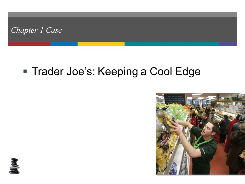 case 1 trader joe kepping a cool edge answers 121 taking on the pepsi challenge: the case of indra nooyi previous (2007, june 11) keeping cool in hot water businessweek the case of trader joe's 5.