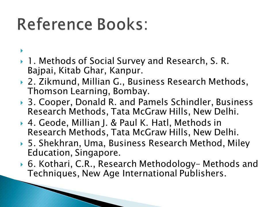 books of research methodology A selection of recommended books on media research, with brief reviews.