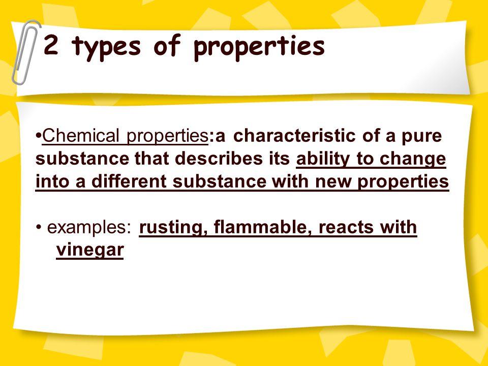 2 types of properties
