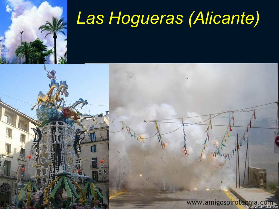 Las Hogueras (Alicante)