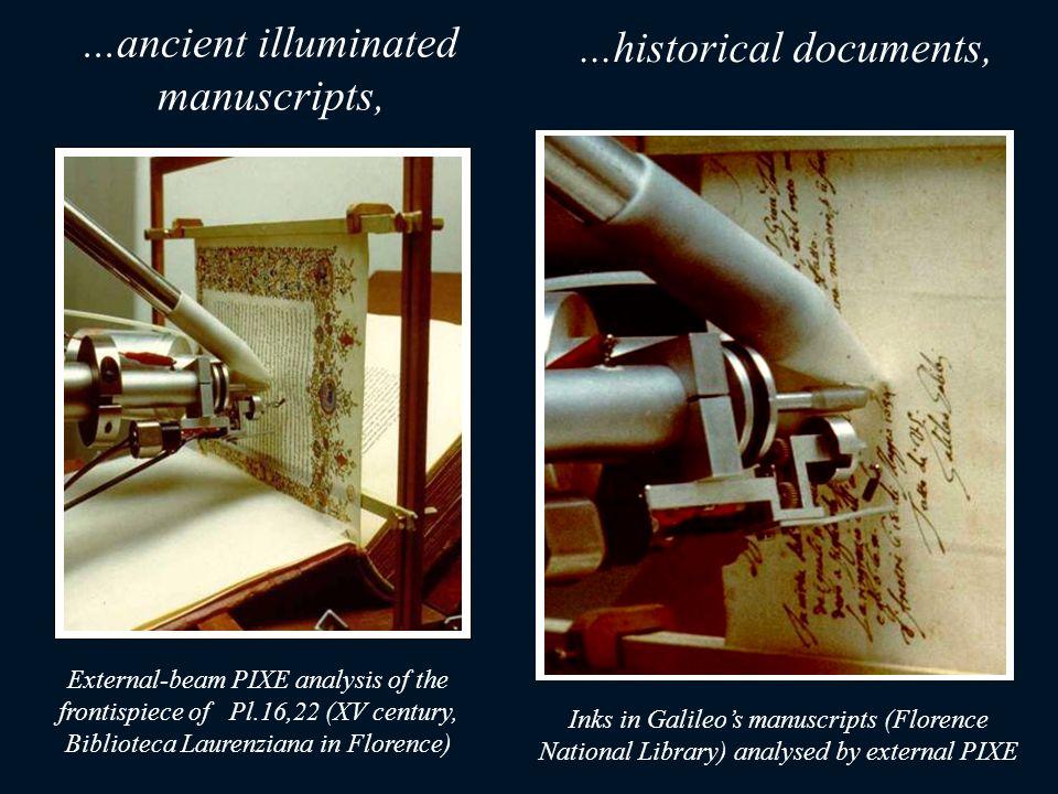 ...ancient illuminated manuscripts,