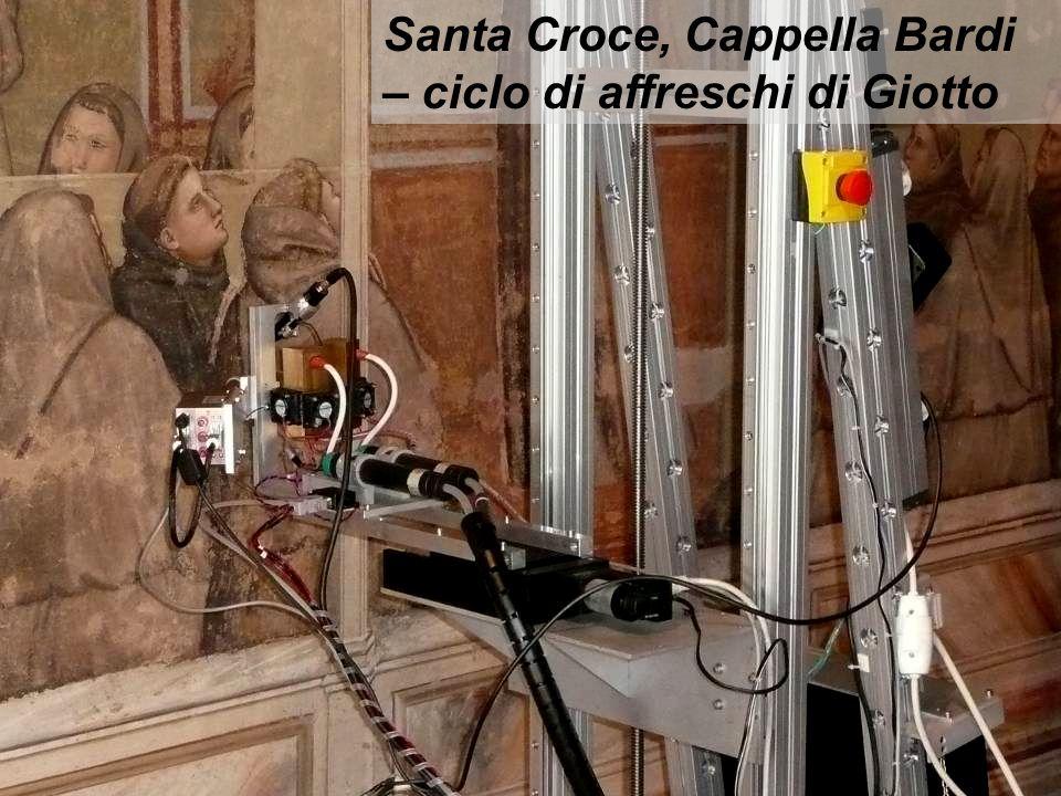 Santa Croce, Cappella Bardi – ciclo di affreschi di Giotto
