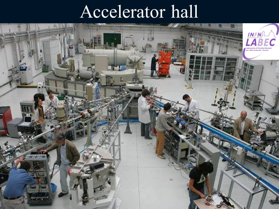 Accelerator hall