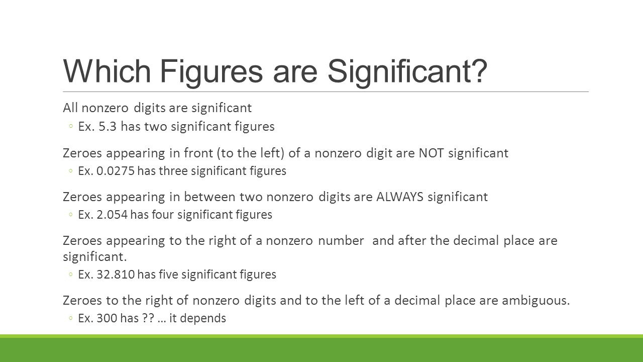 ambiguous figures final Significant figures and units overview: with significant figures, the final value should be reported as 13 x 10 2 since 046 has only 2 significant figures notice that 130 would be ambiguous, so scientific notation is necessary in this situation.