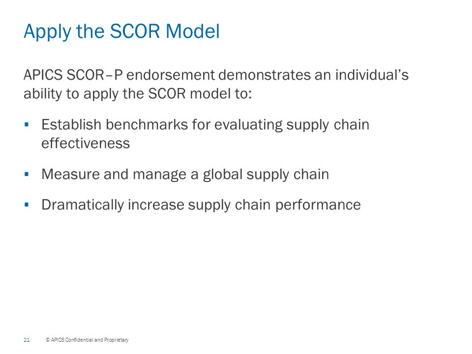 application of scor model in an Abebookscom: application of the scor model in supply chain management (9781934043233) by rolf g poluha and a great selection of similar new, used and collectible books available now at great prices.