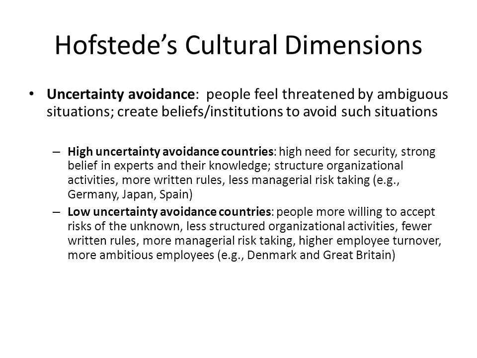 hofstede s cultural dimensions for spain Results for 'hofstede cultural dimensions'  between hofstede 's cultural dimensions and public relations practitioners  nepal, south africa, spain,.