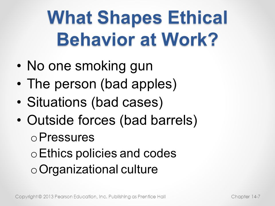 ethics in organizational behavior Strategies for improving ethical behaviors in organizations behavior ethics is relative if top management wants to improve organizational performance.
