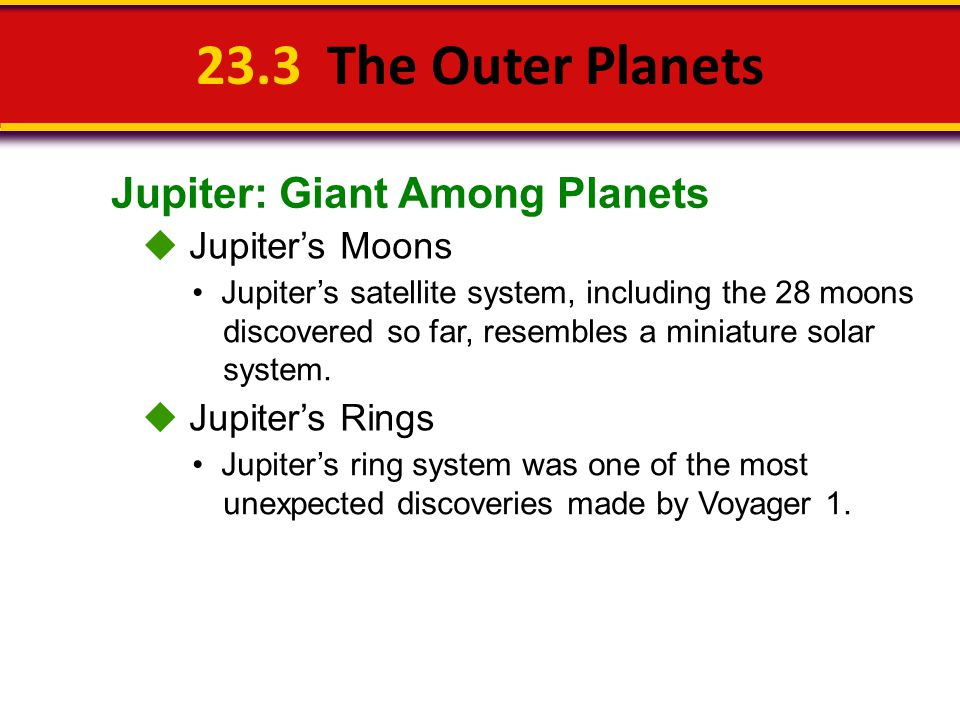 233 The Outer Planets Jupiter Giant Among Planets Jupiters – Outer Planets Worksheet