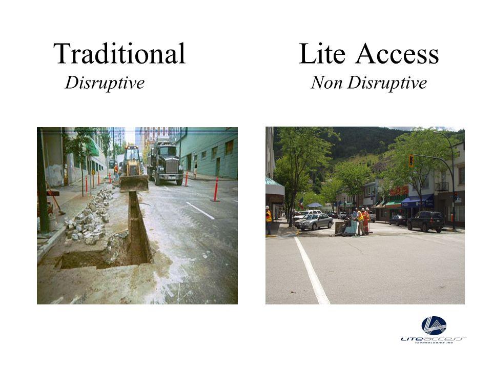 Traditional Lite Access Disruptive Non Disruptive